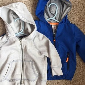 2 comfortable hoodies for Spring
